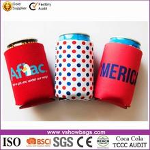 3 mm neoprene zipper can beer Cooler Bags