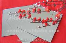 1mm-6mm high reflective SHEET GLASS ALUMINIUM MIRROR with CE&ISO certificate