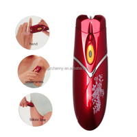 Modern Portable KEMEI KM-8814 Automatic Electric Hair Remover Tweezer Trimmer Epilator Women Body Shaver Tool Lady Beauty