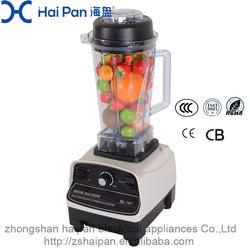 High Speed Plastic Electric Food Chopper/ blender pepper mixing blender machine