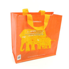 china cheap recycled pp woven shopping bag for promotion