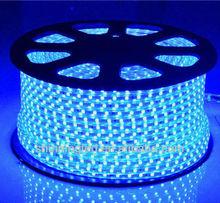 3528-60L-High Voltage SMD LED Strip Light - blue - economic