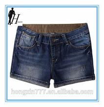 2014 verão quente mulheres shorts, shorts jeans, verão mulher casual calças curtas