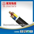 4 núcleos de cable de la alarma