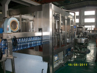 Small plastic bottle gas water packing machine