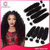Hot selling Eureke hair fast delivery 7A grade Brazilian virgin human hair deep hair weave