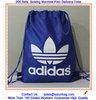 Customized nylon polyester Backpack Drawstring bag ,CMYK printing organic cotton drawstring bag,