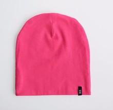 Custom label baby Stretch Jersey Cotton Beanie Hats