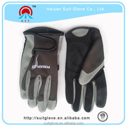 Top brand motorcycle black and gray cycling gloves