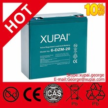 China Battery Manufacturer Electric Vehicle 12v 20ah 6-dzm-20 Battery