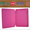 three folding PU leather case for ipad Air 2 with intelligent function