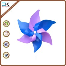 Festival picture printed plastic pinwheel windmills for promotion