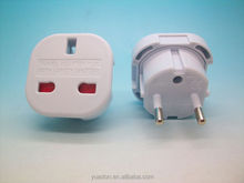 England to EU plug to bs1363 socket with safety shutter
