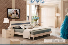 Modern high quality luxurious king bedroom furniture sets