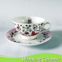Wholesale royal aftertoon fine bone china tea cup with gift ,ceramic tea cup, tea cup and saucers.
