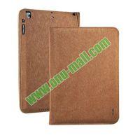 Side Flip Smart Wake Sleep Leather Belt Clip Case for iPad Air