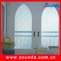 PVC Material Stickers Use static cling window film