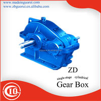ZD,ZQ,ZL,ZS cylindrical speed reducer / gearbox for concrete mixer / gear box for drilling