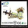 White H4 27 SMD 5050 Car LED Headlight Fog Light Driving Lamp Car