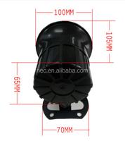 Good sound car horn, black horn for camry 12v and black electric car horn