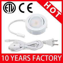 China Alibaba LED Under Cabinet Puck Lighting Installation Easy