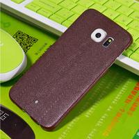 Ultra Thin Crocodile PU Leather Phone Case For Samsung Galaxy S6 Edge
