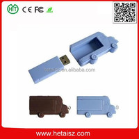 plastic truck shape usb flash drive, truck usb 128gb, truck 2000gb usb flash drive