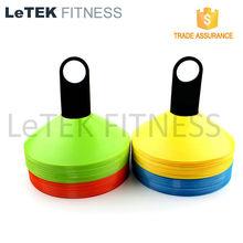 Set of 50-Football Soccer Sports Precision Training Plastic Boundary Marker Cone