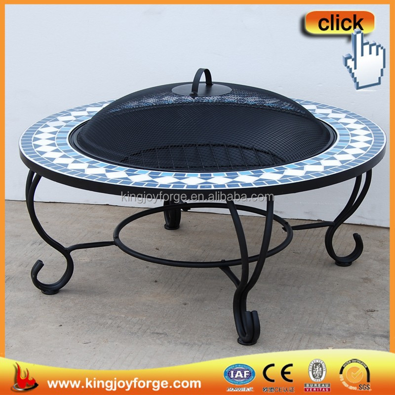 Big bbq pits autos post for Outdoor round table tops for sale