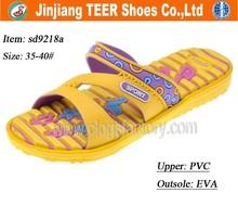 Raw Material To Manufactory PVC Women Slipper