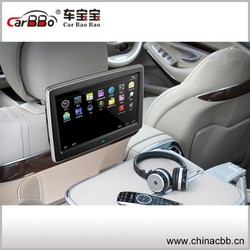 10.1 Inch touch screen Lcd Car Headrest Android Monitor with wiif wireless internet \usb \sd