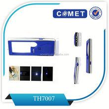 Mobile phone shape portable pocket plastic magnifier large glass magnifier lens