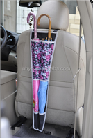 New car back seat hanging organizer bag Car Seat Back umbrella hanging bag