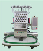 High Precision Single Head Embroidery Machine with Prices