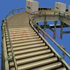 New roller conveyor system for packing, beverage, alcoholic conveying