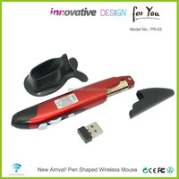 Latest Custom Made Wireless Optical Mouse Computer Mouse With Pen design Paypal available