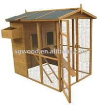 HEN HOUSE COOP With Build-in Large Run Pet Cages, Carriers & Houses