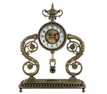 iron ring antique retro desk clock JHF-1797