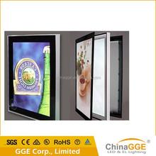 Single side magnetic LED edgelit light pictures