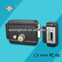 unique electronic black electric lock for rental house
