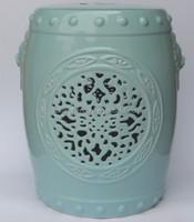 porcelain chinese garden stools