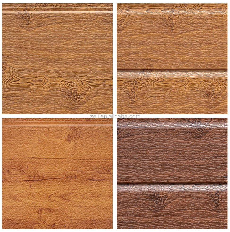 Wood Texture Insulated Metal Wall Panel Polyurethane Decorative Exterior Wall Panelsl Buy