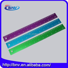 Wholesale custom aluminium metal scale ruler, ruler 30 cm size for office use