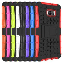 2015Year Hot Selling Wholesales TPU+PC Hybrid Kickstand Back Cover Phone Case for Samsung Galaxy Note 5 Edge