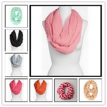 2014 Many color Infinity scarf for woman great accessory for your outfit Black Friday gifts