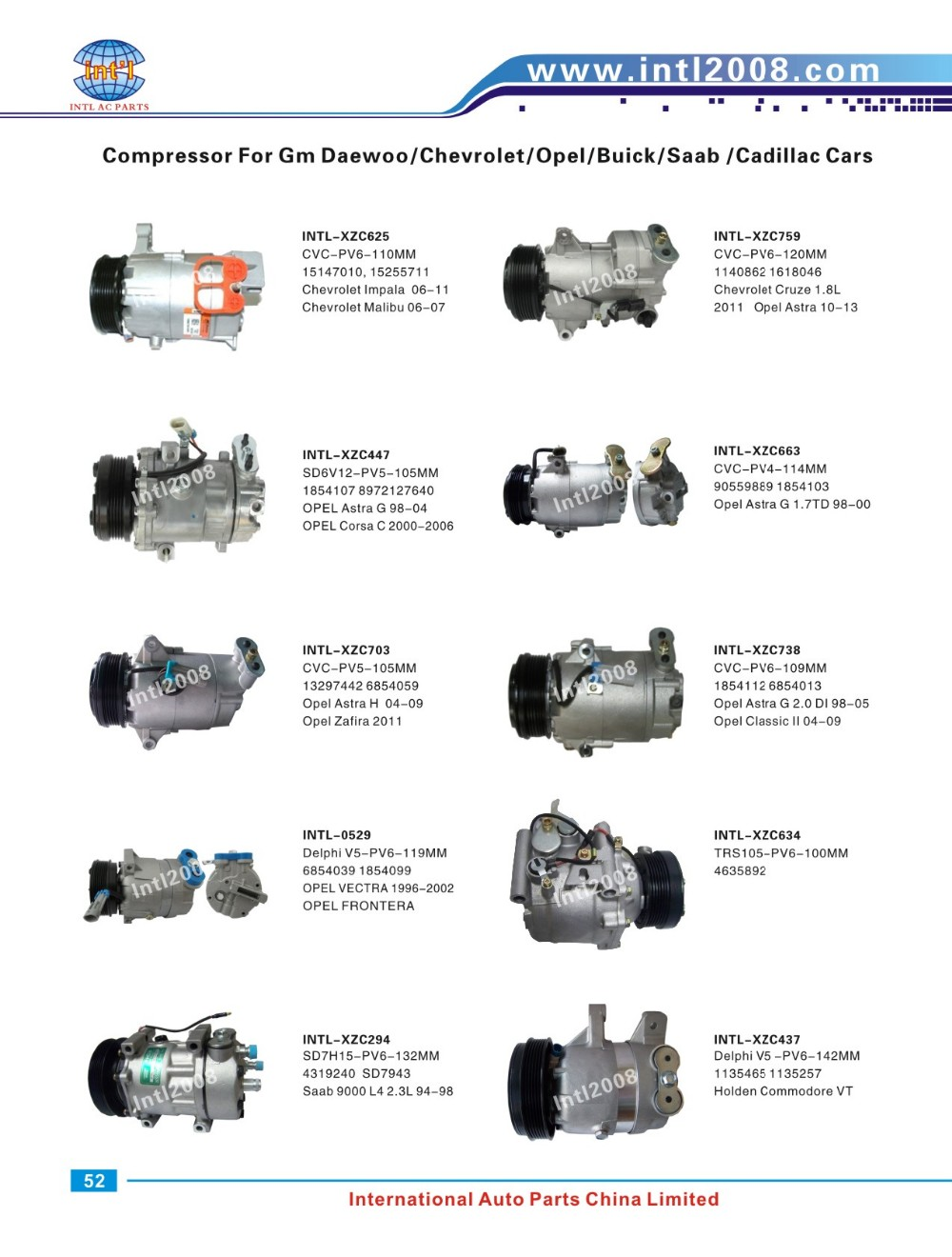 Compressor bomba para a GM S10 2.8/Grand Blazer 2.4