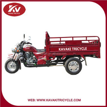 Made in China Kavaki Industrial Tricycle/Three Wheel Motorcycle/200cc Cargo Tricycle