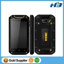 Rugged Waterproof IP67 Cell Phone IMAN I5800 Dual SIM Android Quad Core 3G Smartphone
