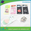 2015 new auto paper hanging air freshener for car