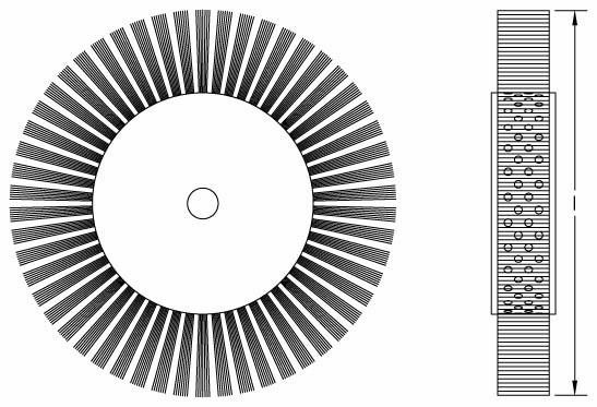 Professionnel outils oem forgeron outils explosion preuve Béryllium Cuivre banc serti fil roue